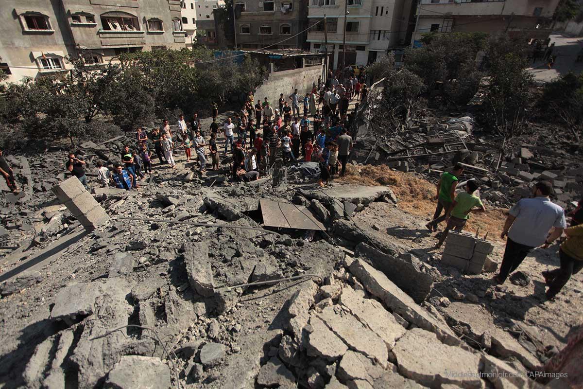 Gaza: Más de un ataque israelí al día en septiembre