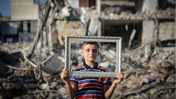 La durísima vida de los niños de Gaza