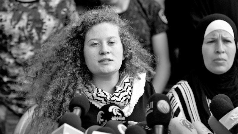 Campaña: Firma la solicitud para que Ahed Tamimi sea candidata al premio Nobel de la Paz 2018