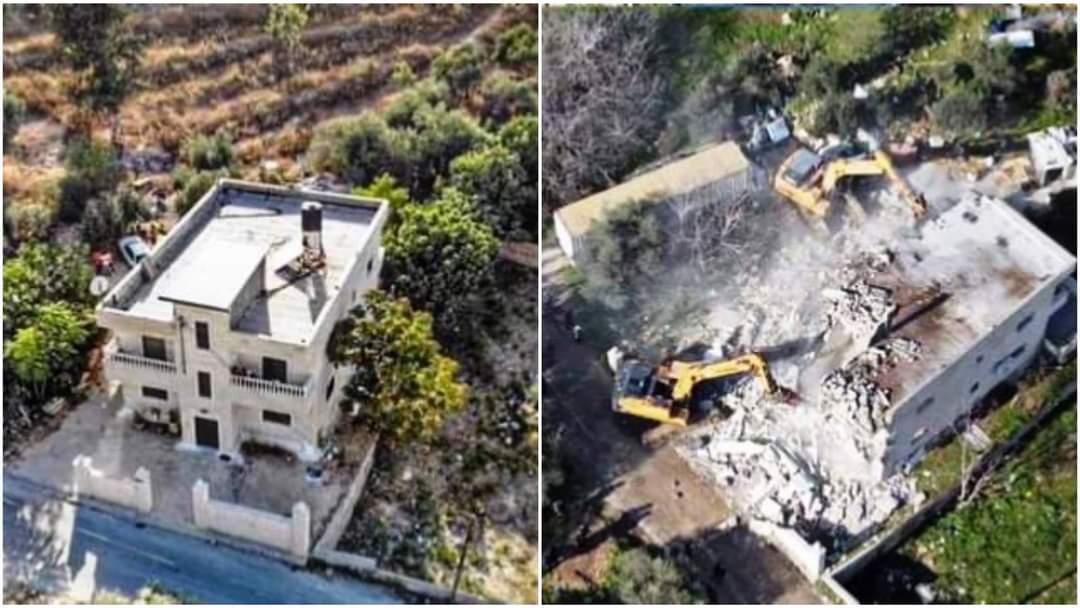 La ocupación israelí ataca a los pobladores de Issawiya en Jerusalén ocupada tras la demolición de un edificio