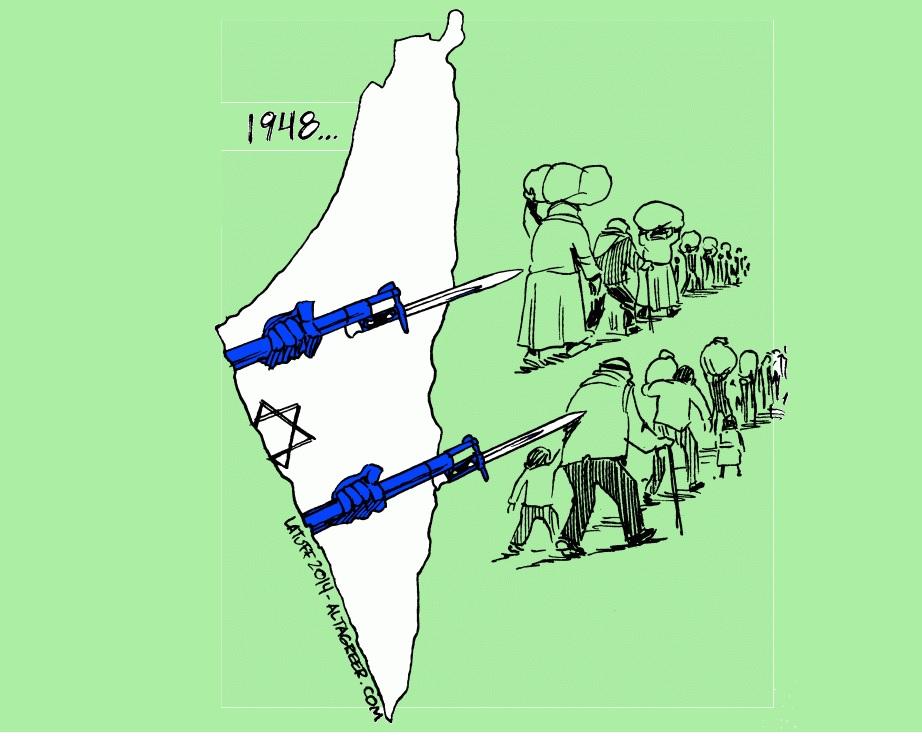 Hoy es el aniversario de La Nakba: 73 años de limpieza étnica y apartheid