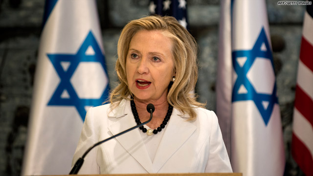 Donald Trump será el presidente número 45 de USA?  - Página 4 Hillary-israel
