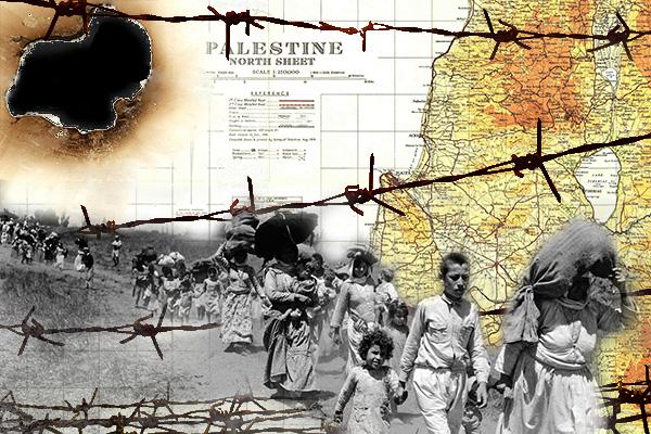 Hace más de 70 años que miles de personas del Pueblo Palestino tuvieron que huir de sus hogares